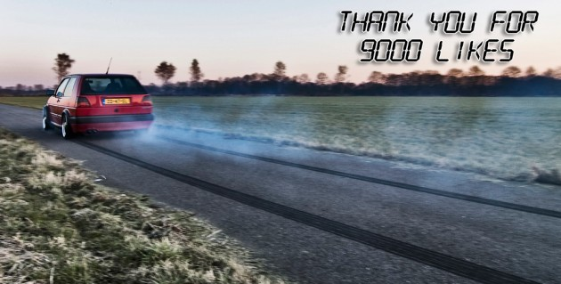 9000 likes for VW-Speed Facebook