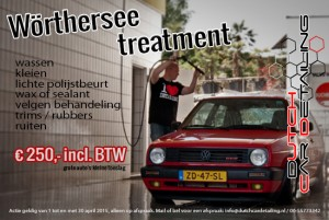 Dutch Car Detailing Wörthersee Actie 2015